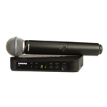 Shure BLX24/Beta58 Wireless Vocal Microphone System