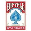 Bicycle Standard Red Playing Card