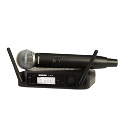 Shure GLXD24/Beta58 Rechargeable Digital Wireless Microphone System