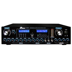 IDOLmain IP-2900 Professional Vocal Enhancer Karaoke Mixer with Bluetooth and HDMI
