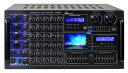 IDOLmain IP-6500 Bluetooth/HDMI/Optical/Recording/LCD Screen/10 Band Equalizer 6000W Professional Mixing Amplifier