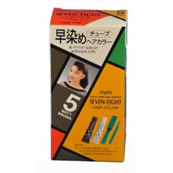 Paon Seven Eight Hair Color 5 Matt Brown  - Thuoc Nhuom Toc Mau Nau
