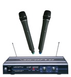 Vocopro UHF-3200 UHF-Dual Channel Wireless Microphone System
