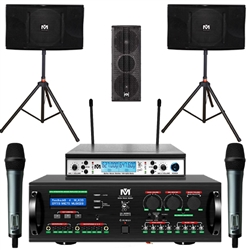 Better Music Builder Pro Package 3 Channel Complete Karaoke System