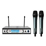 Better Music Builder VM-62U Beta Dual Channel UHF Wireless Microphone System