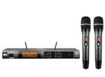 Better Music Builder VM-82U G5 Dual Channel UHF Wireless Microphone System