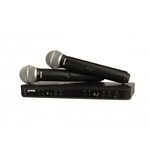 Shure BLX288/PG58 Dual Vocal Wireless System