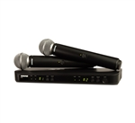 Shure BLX288/SM58 Dual Vocal Wireless System